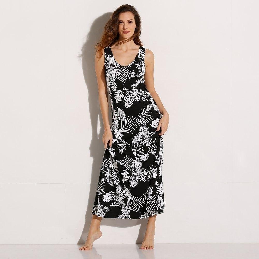 302a761d2e3b Blancheporte Dlhé šaty s potlačou čierna biela 38 40 značky Blancheporte -  Lovely.sk