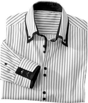 3908e2989c2a Blancheporte Košeľa s dvojitým golierom a dlhými rukávmi značky ...