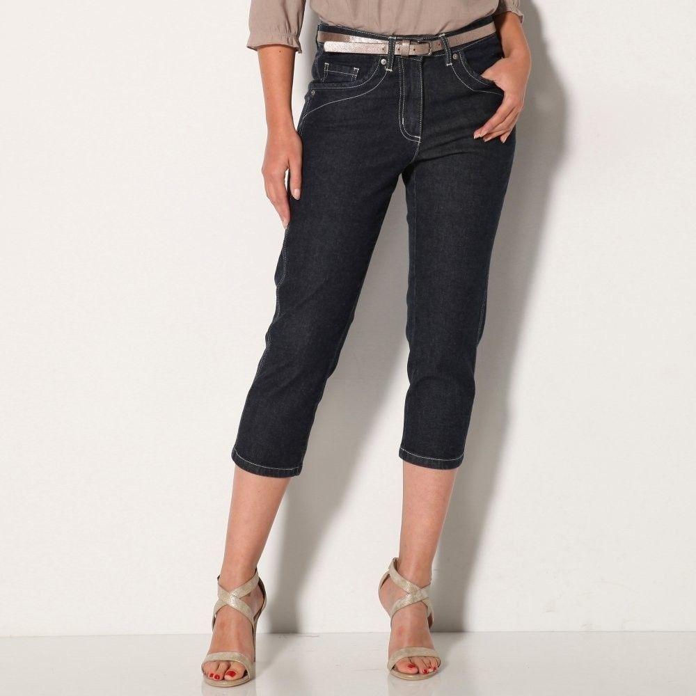 9a926fee4947 Blancheporte 3 4 džínsové nohavice modrá 38 značky Blancheporte - Lovely.sk