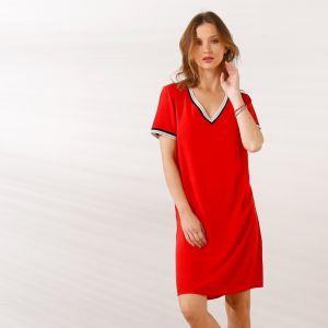 7aaf3a45d80d Šaty adidas Originals Trefoil Dress Červená značky adidas Originals ...