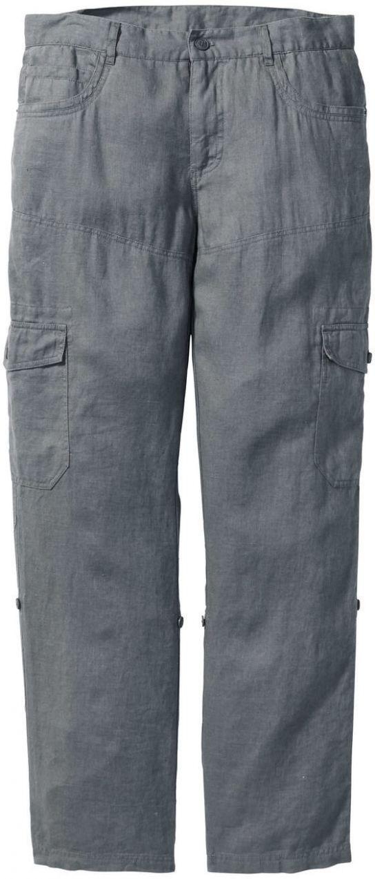 ec9ea23fefc4 Plátené kapsáčové nohavice s vyhrnutím Regular Fit bonprix značky bpc  bonprix collection - Lovely.sk