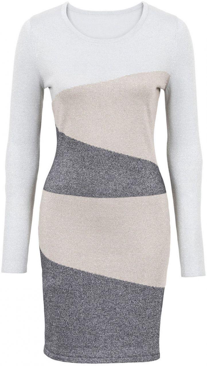 26ddd5d5f0a5 Pletené šaty bonprix značky BODYFLIRT boutique - Lovely.sk