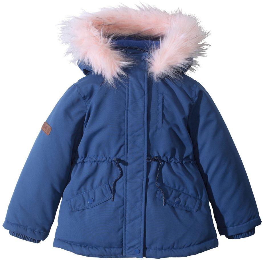 Vatovaná bunda s umelou kožušinkou na kapucni bonprix značky bpc bonprix  collection - Lovely.sk 846789c3f86