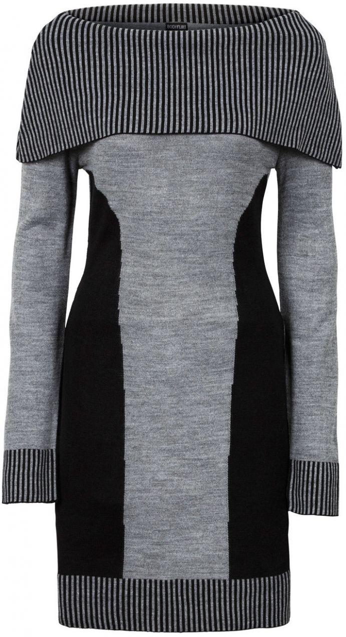 Pletené šaty bonprix značky BODYFLIRT - Lovely.sk 057d1203055