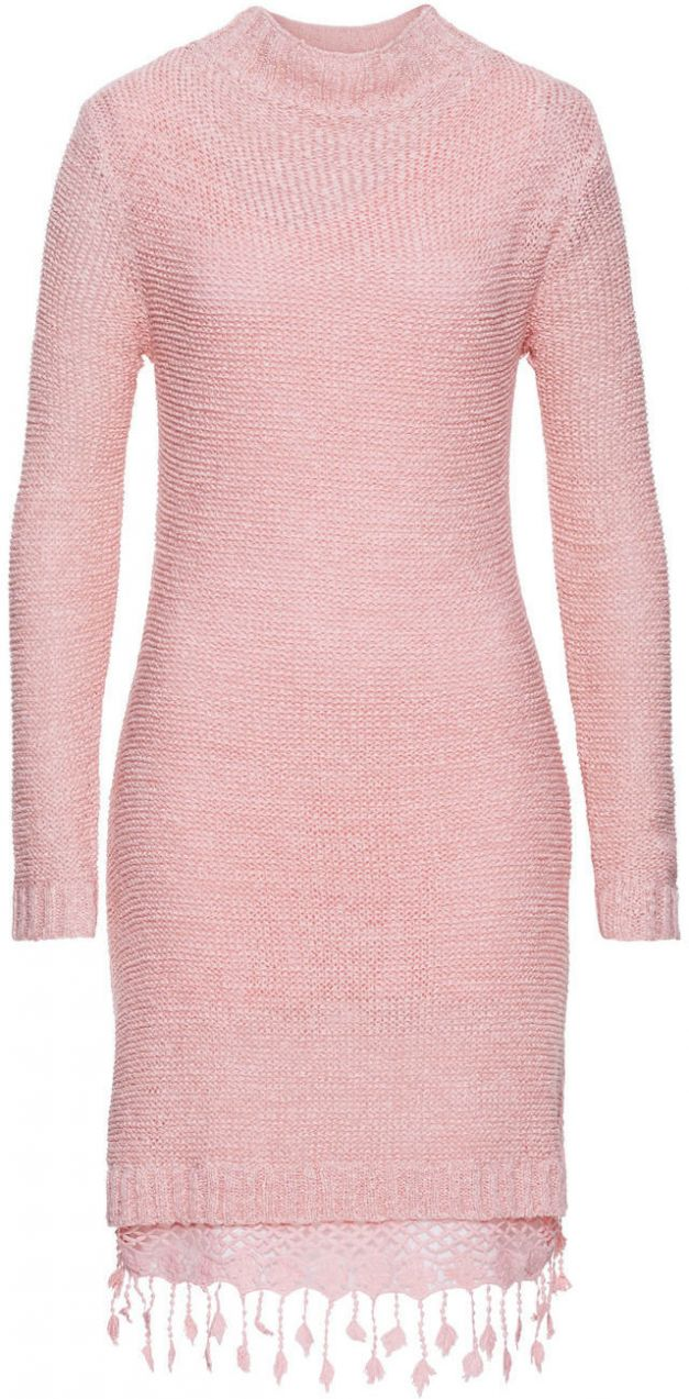 Pletené šaty s čipkou bonprix značky RAINBOW - Lovely.sk 2700022b7fd