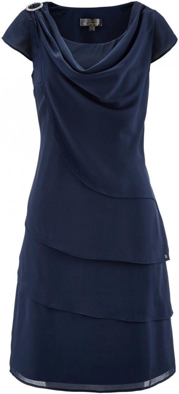 e4040df9090c Šifónové šaty vo vrstvenom vzhľade bonprix značky bpc selection premium -  Lovely.sk