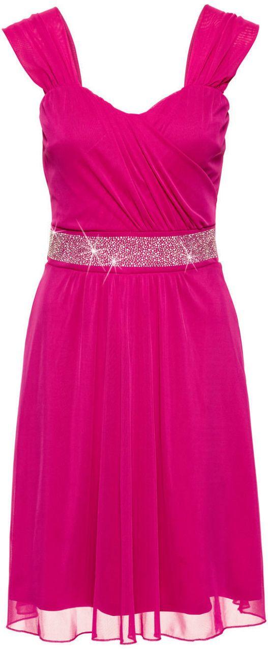 60c8ead0c897 Koktejlové šaty zo sieťoviny a džerseju bonprix značky BODYFLIRT - Lovely.sk