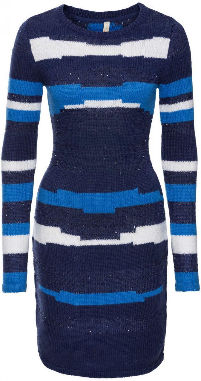 Pletené šaty bonprix značky BODYFLIRT boutique - Lovely.sk 198fe67c025