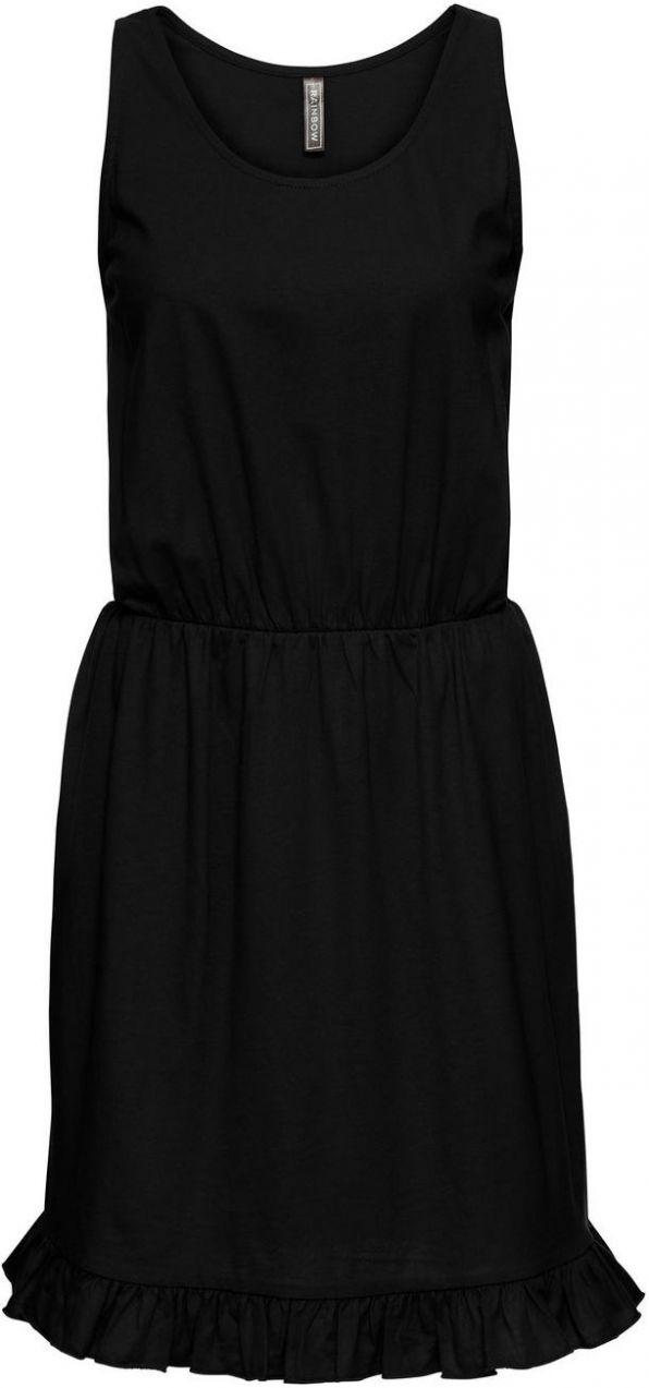 Úpletové šaty s volánmi bonprix značky RAINBOW - Lovely.sk 6553592dbca