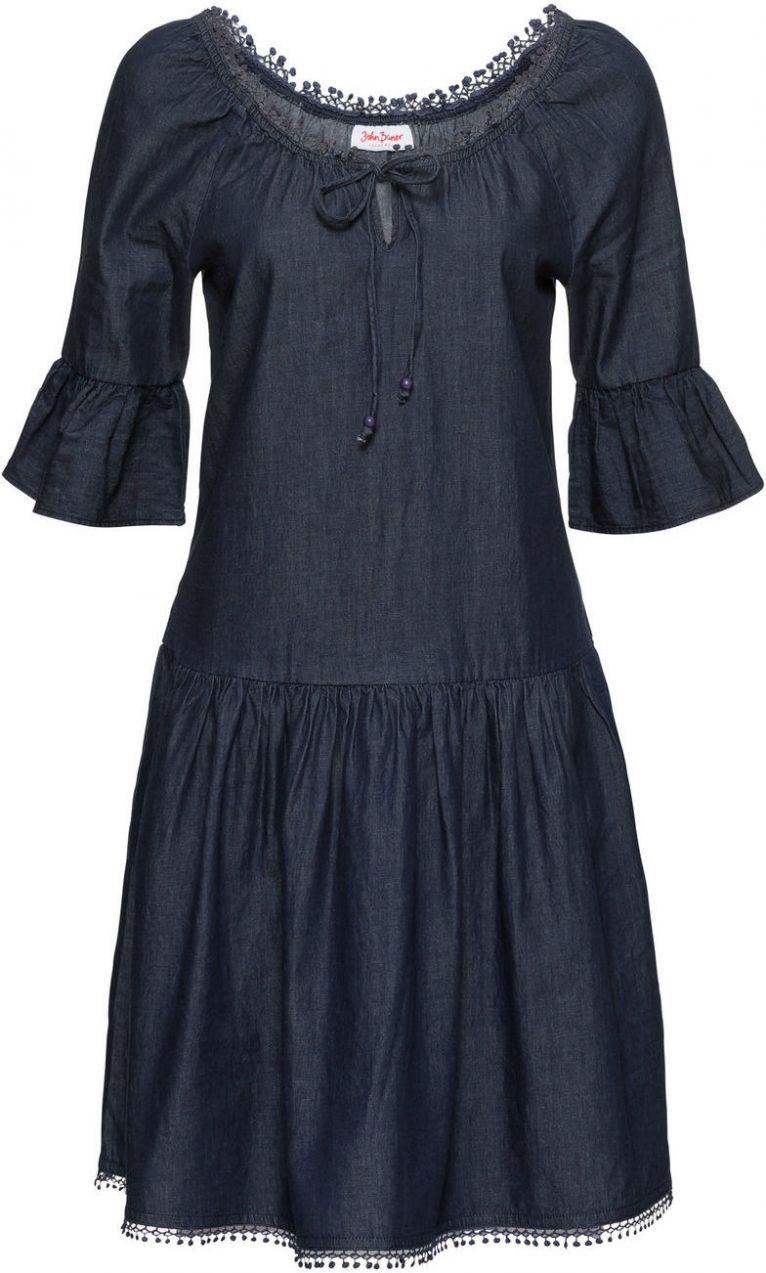 bf249e9e7c1a Džínsové šaty Carmen bonprix značky John Baner JEANSWEAR - Lovely.sk
