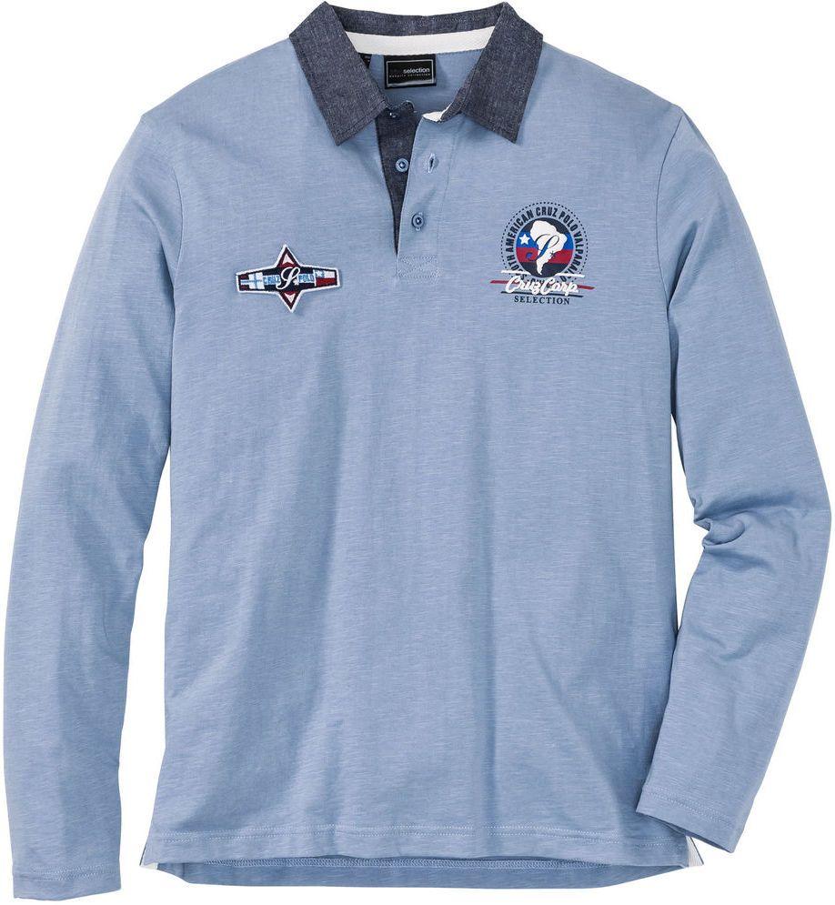 08b3f2419dbe Polo tričko s dlhým rukávom Regular Fit bonprix značky bpc selection -  Lovely.sk