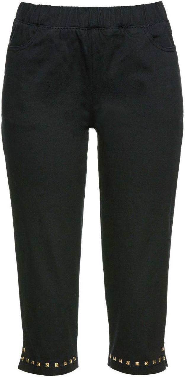 8ea2b2b42f5e Capri nohavice so zlatými nitmi bonprix značky bpc selection - Lovely.sk
