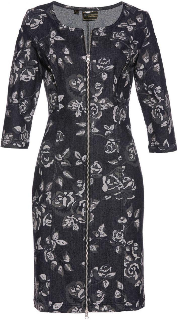 003a1a798f84 Džínsové šaty bonprix značky bpc selection premium - Lovely.sk