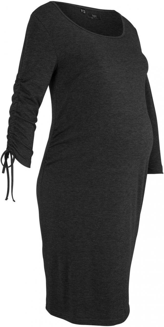 d1debd04f238 Tehotenské úpletové šaty bonprix značky bpc bonprix collection - Lovely.sk