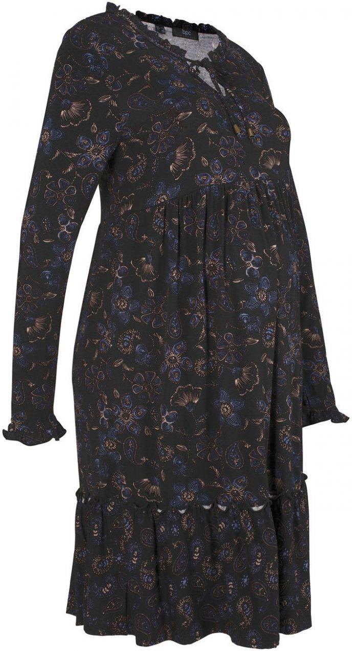 ccf33143c3 Tehotenské úpletové šaty bonprix značky bpc bonprix collection - Lovely.sk