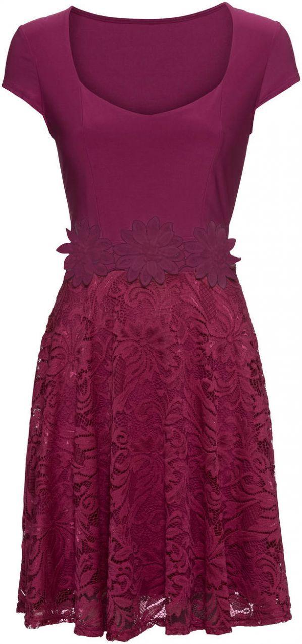 Šaty s čipkou bonprix značky BODYFLIRT - Lovely.sk 253b0d013bb