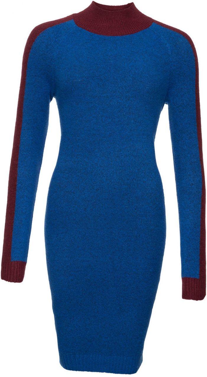 0a2ddc4d0366 Pletené šaty v štýle Colourblocking bonprix značky RAINBOW - Lovely.sk