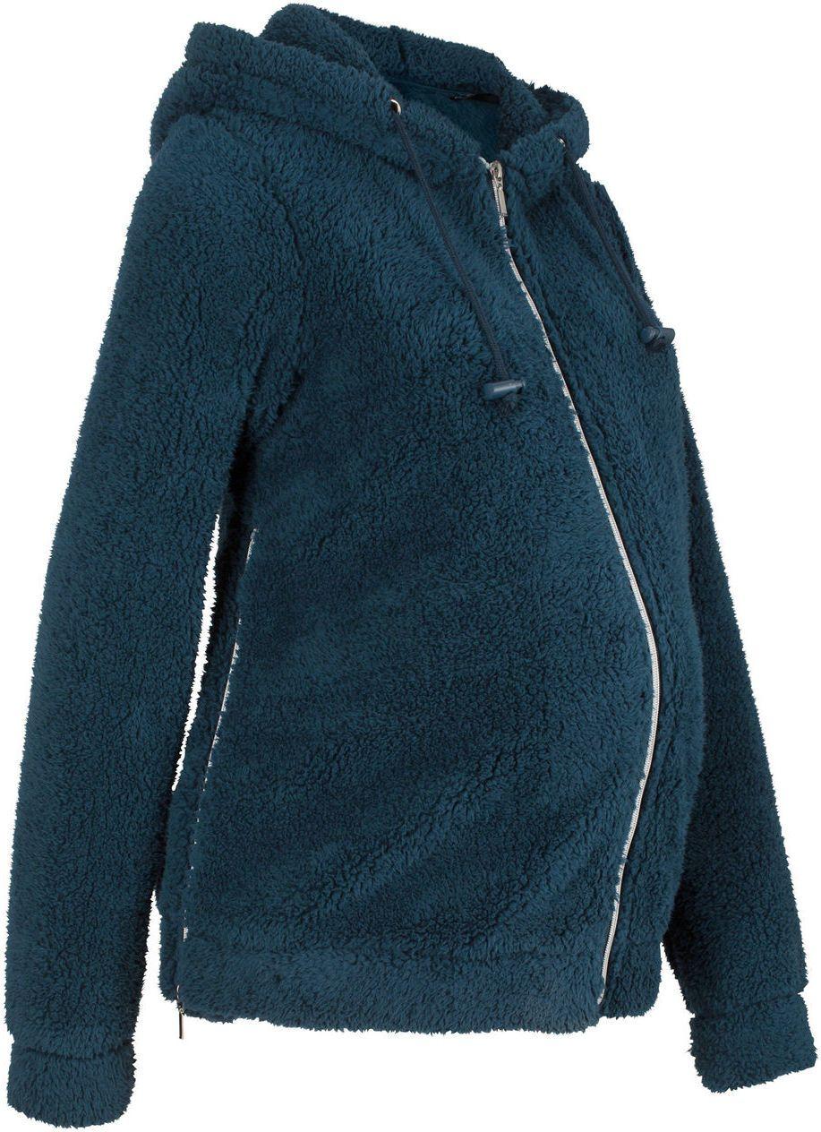 5008f4114cbd Tehotenská kožušinová bunda bonprix značky bpc bonprix collection -  Lovely.sk