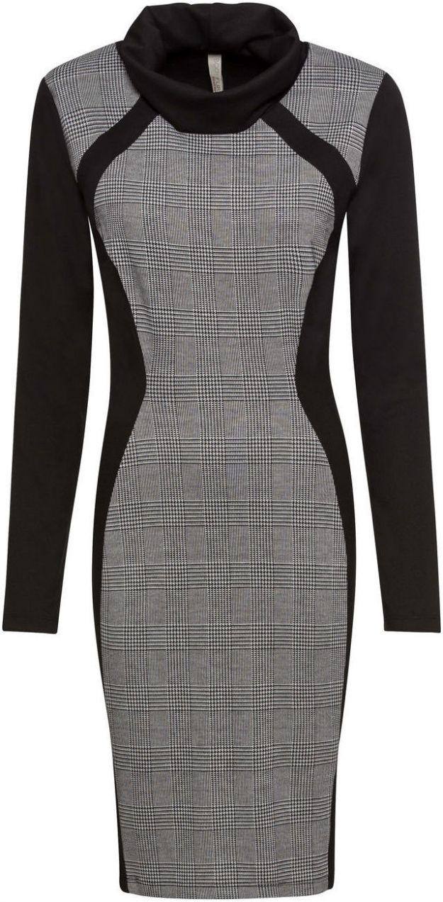 Šaty so stojačikom bonprix značky BODYFLIRT boutique - Lovely.sk 6116571e611