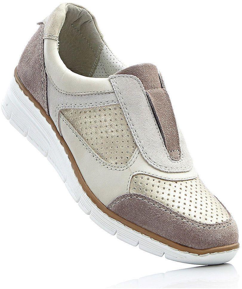 1fd7e088cccf Pohodlné kožené topánky slip on bonprix značky bpc selection - Lovely.sk