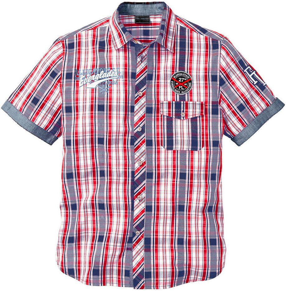 37f221d051f5 Károvaná košeľa s krátkym rukávom bonprix značky bpc bonprix collection -  Lovely.sk
