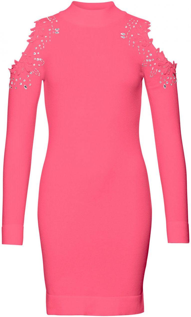 Pletené šaty s otvormi bonprix značky BODYFLIRT boutique - Lovely.sk 42f718fe4c7