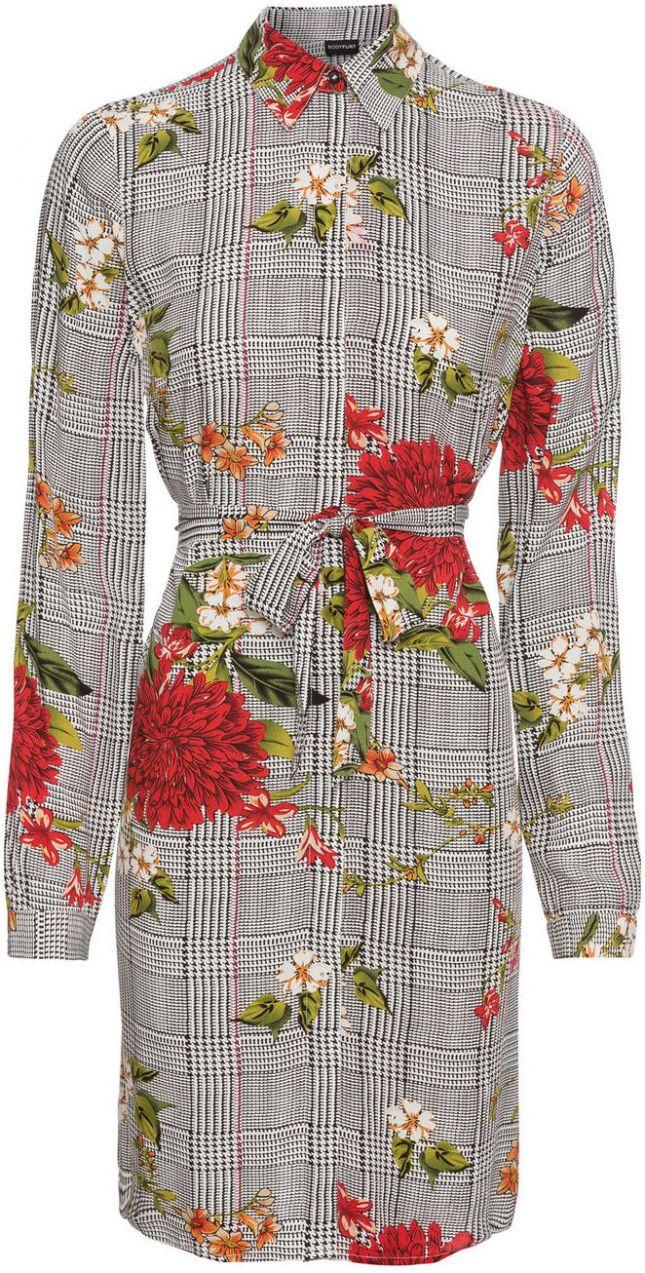Šaty s károvaným vzorom bonprix značky BODYFLIRT - Lovely.sk 9d7400dbe1f