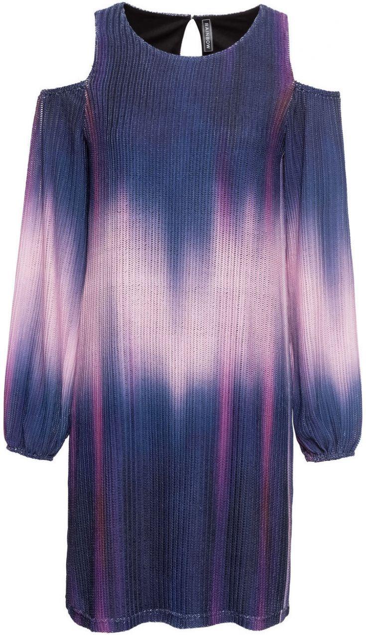7d9c1de9cb48 Úpletové šaty s prestrihmi bonprix značky RAINBOW - Lovely.sk