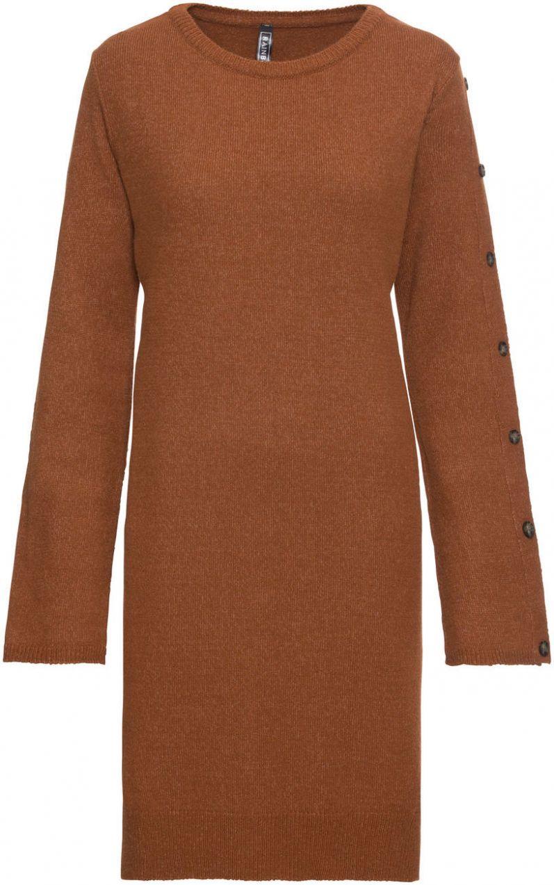 de3dda6df70a Pletené šaty  MUST HAVE bonprix značky RAINBOW - Lovely.sk
