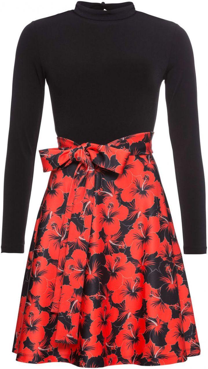 09172423dc Šaty s kvetovanou potlačou bonprix značky BODYFLIRT boutique - Lovely.sk