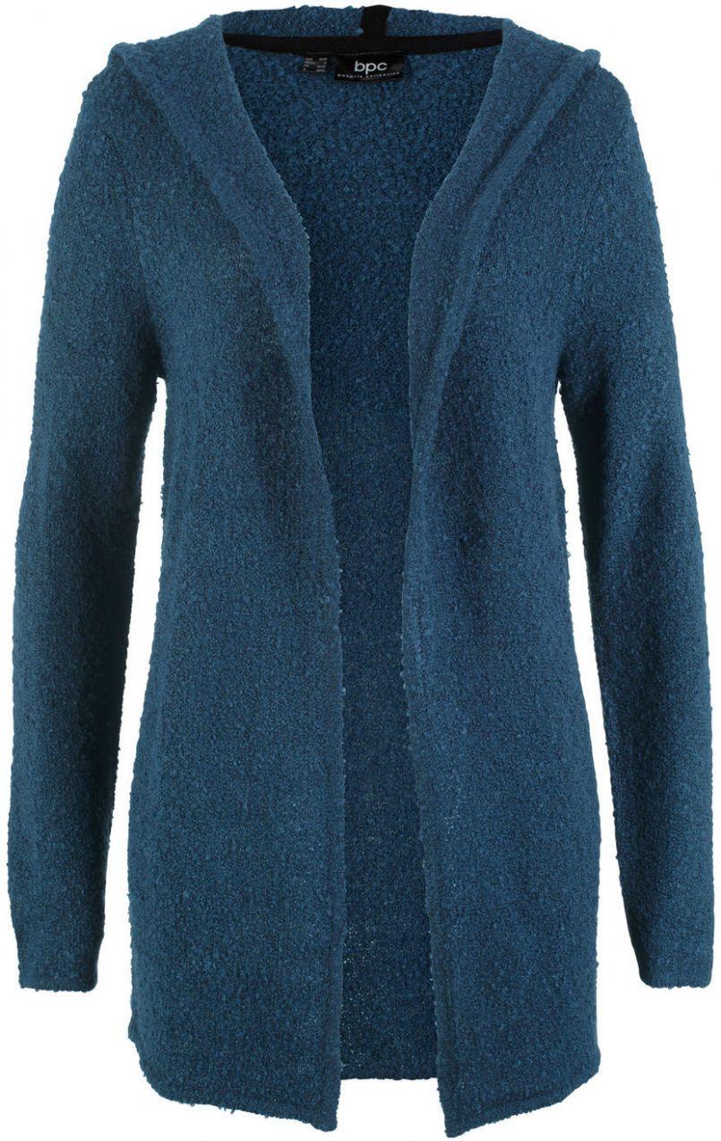 56d24bc2295a Pletený sveter s kapucňou bonprix značky bpc bonprix collection - Lovely.sk