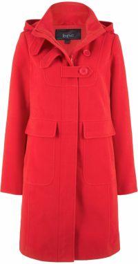 Rita Koss Dámsky kabát RK29 RED značky Rita Koss - Lovely.sk 4f9f31ffb7