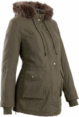 Tehotenská bunda so vsadkou 3 v 1 bonprix značky bpc bonprix ... 1cc40239df2