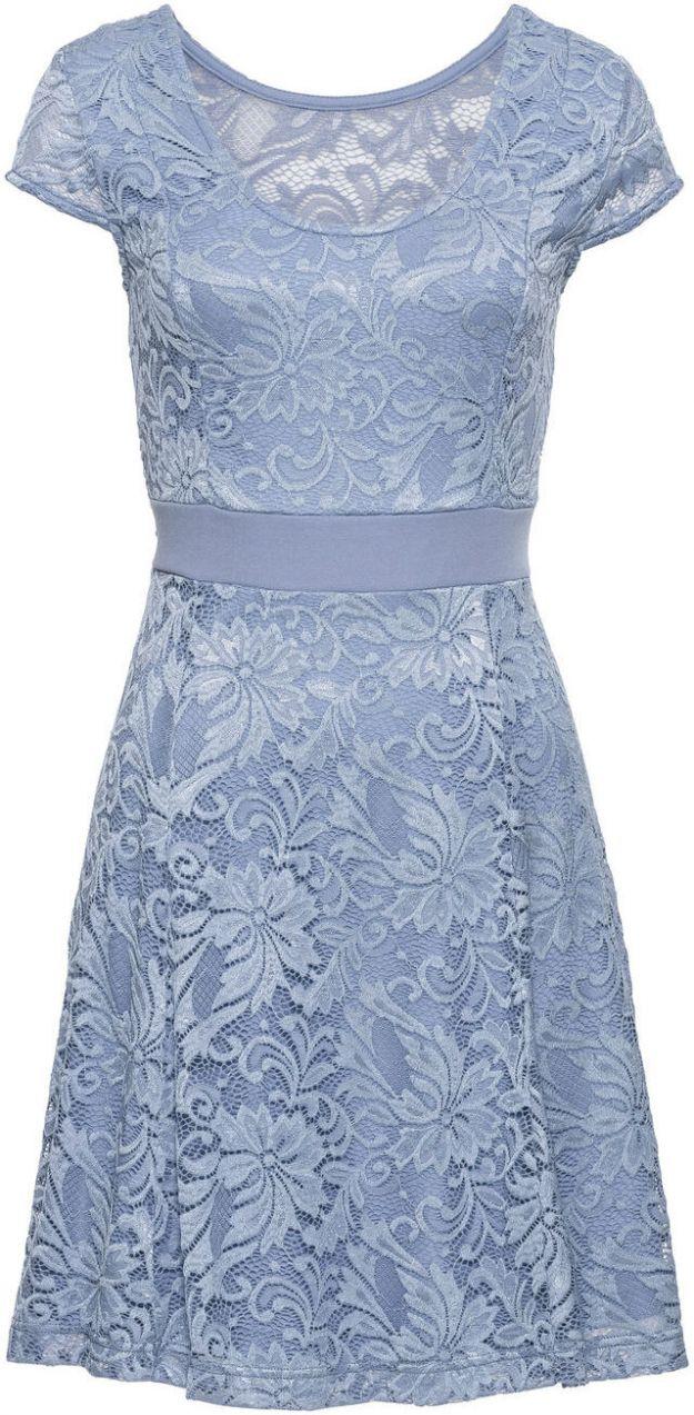 116cacea2503 Džersejové šaty s čipkou bonprix značky BODYFLIRT - Lovely.sk