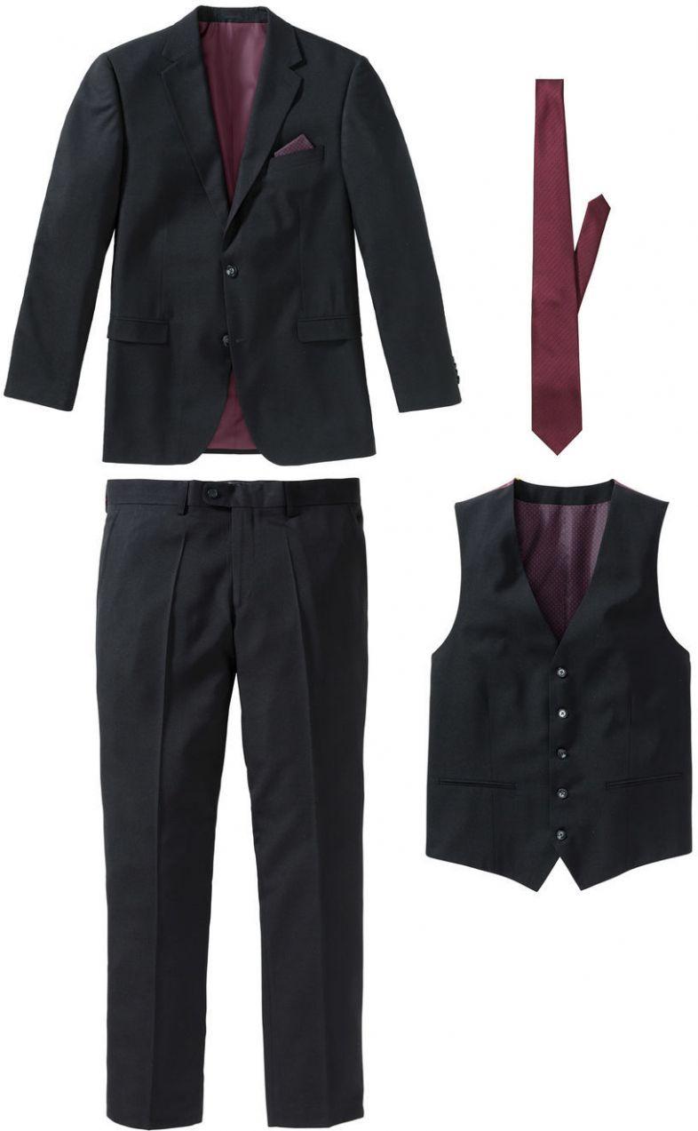 189170adae 4-dielny Oblek Regular Fit bonprix značky bpc selection - Lovely.sk