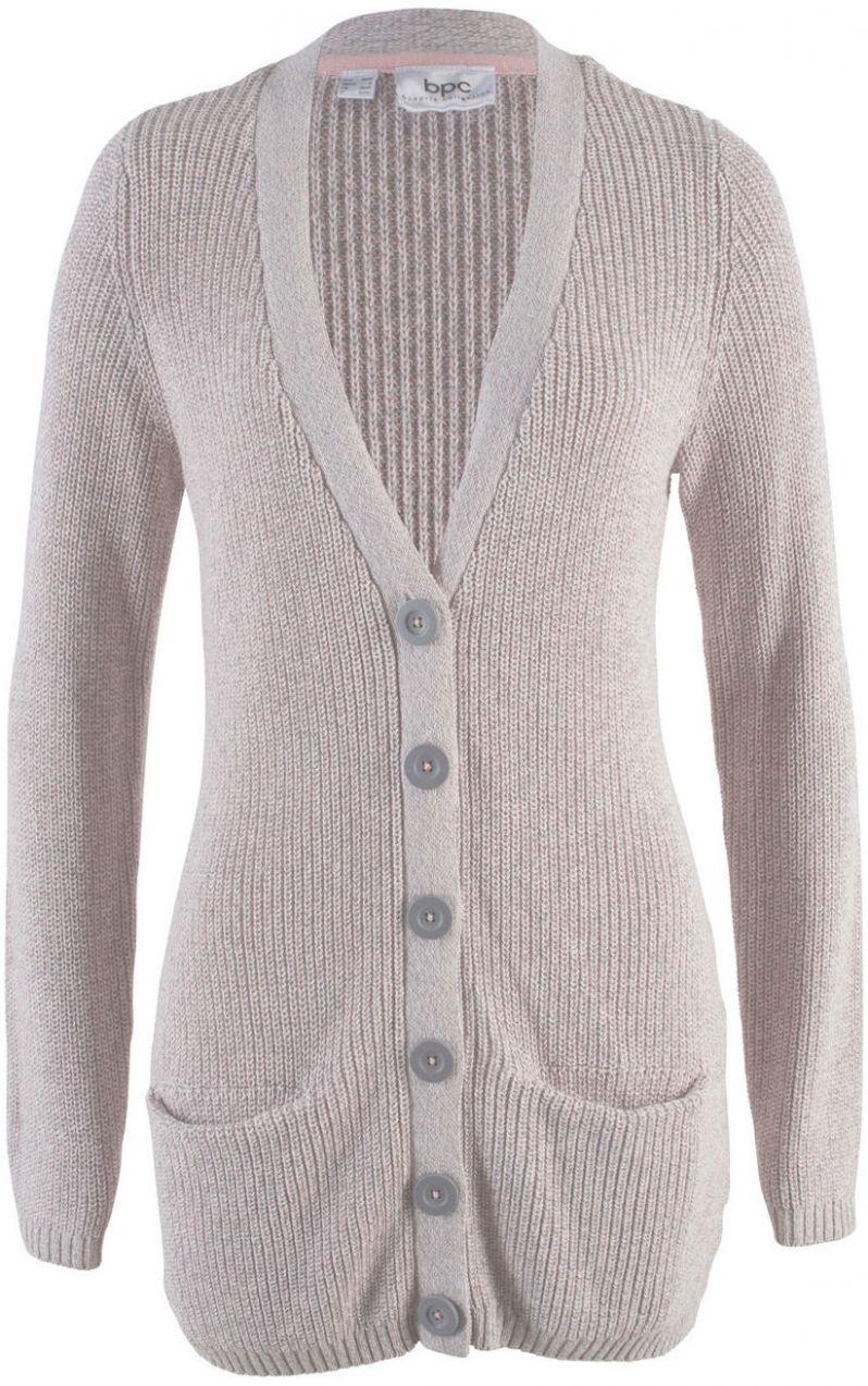 f644d33add2b Pletený sveter s vreckami bonprix značky bpc bonprix collection - Lovely.sk