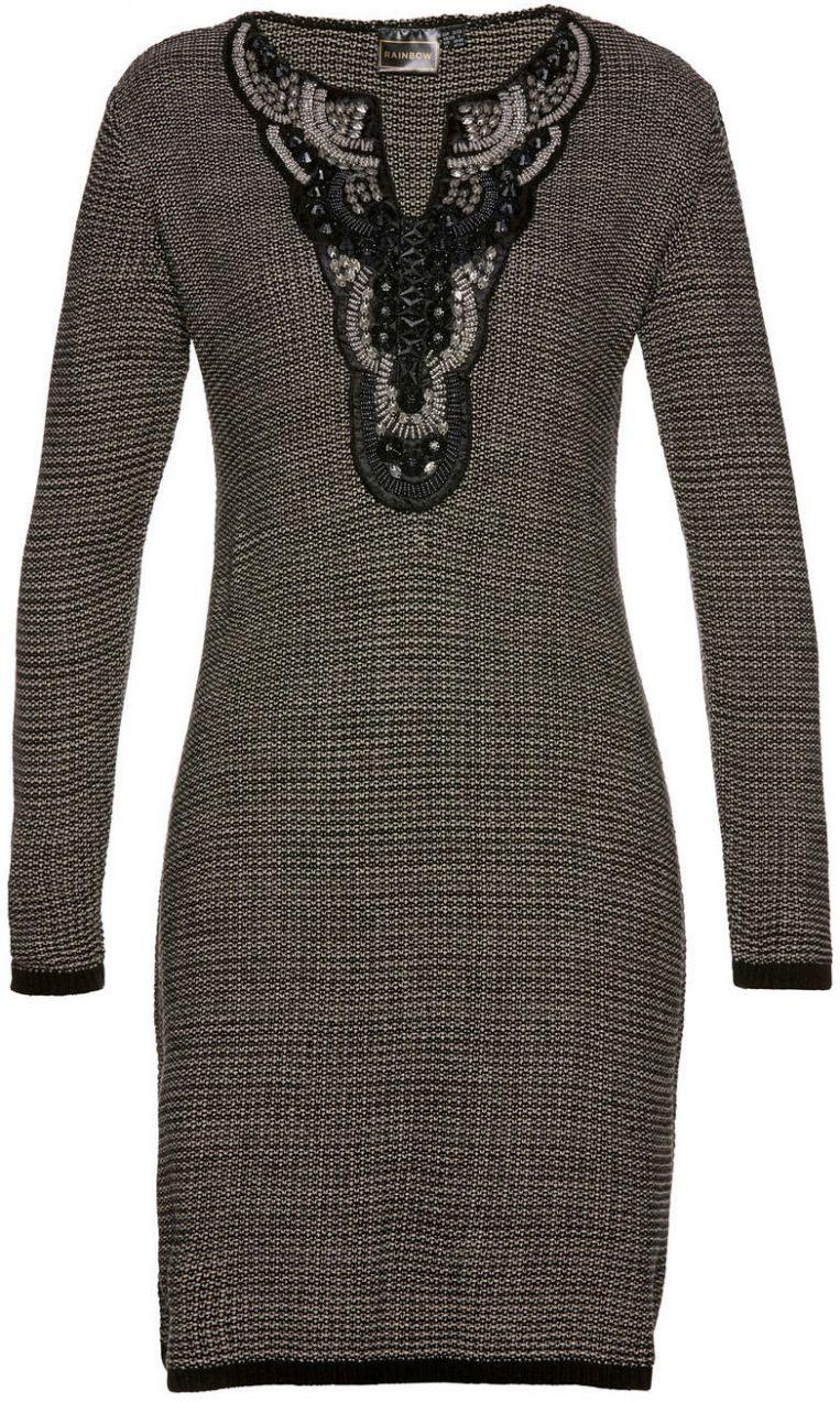 e0a4cbdf1578 Pletené šaty bonprix značky bpc selection premium - Lovely.sk