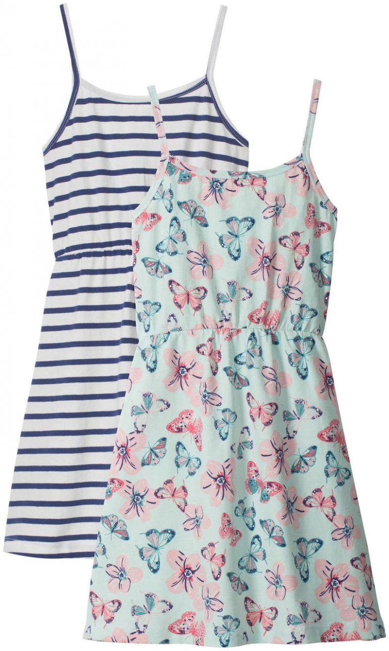 4b4e7414eef3 Letné šaty (2 ks) bonprix značky bpc bonprix collection - Lovely.sk