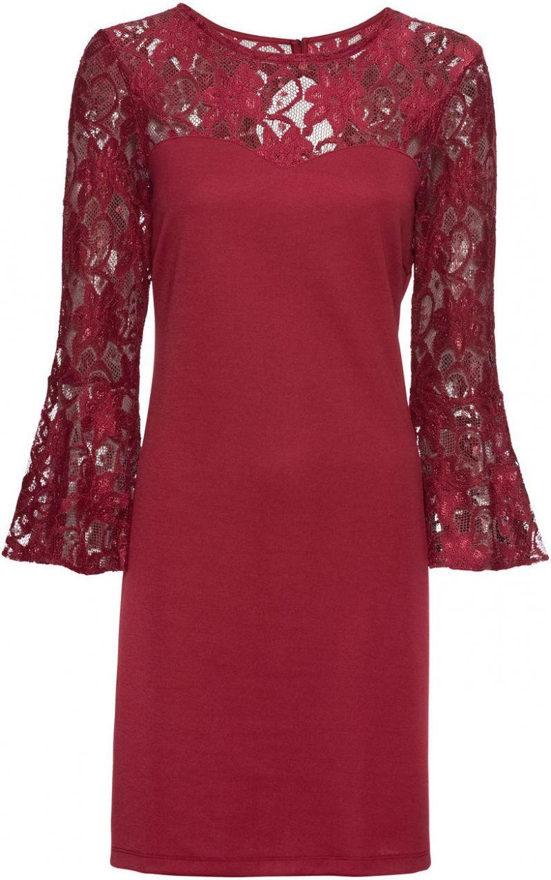 22979ff15ec3 Džersejové šaty so zvonovými rukávmi bonprix značky BODYFLIRT - Lovely.sk