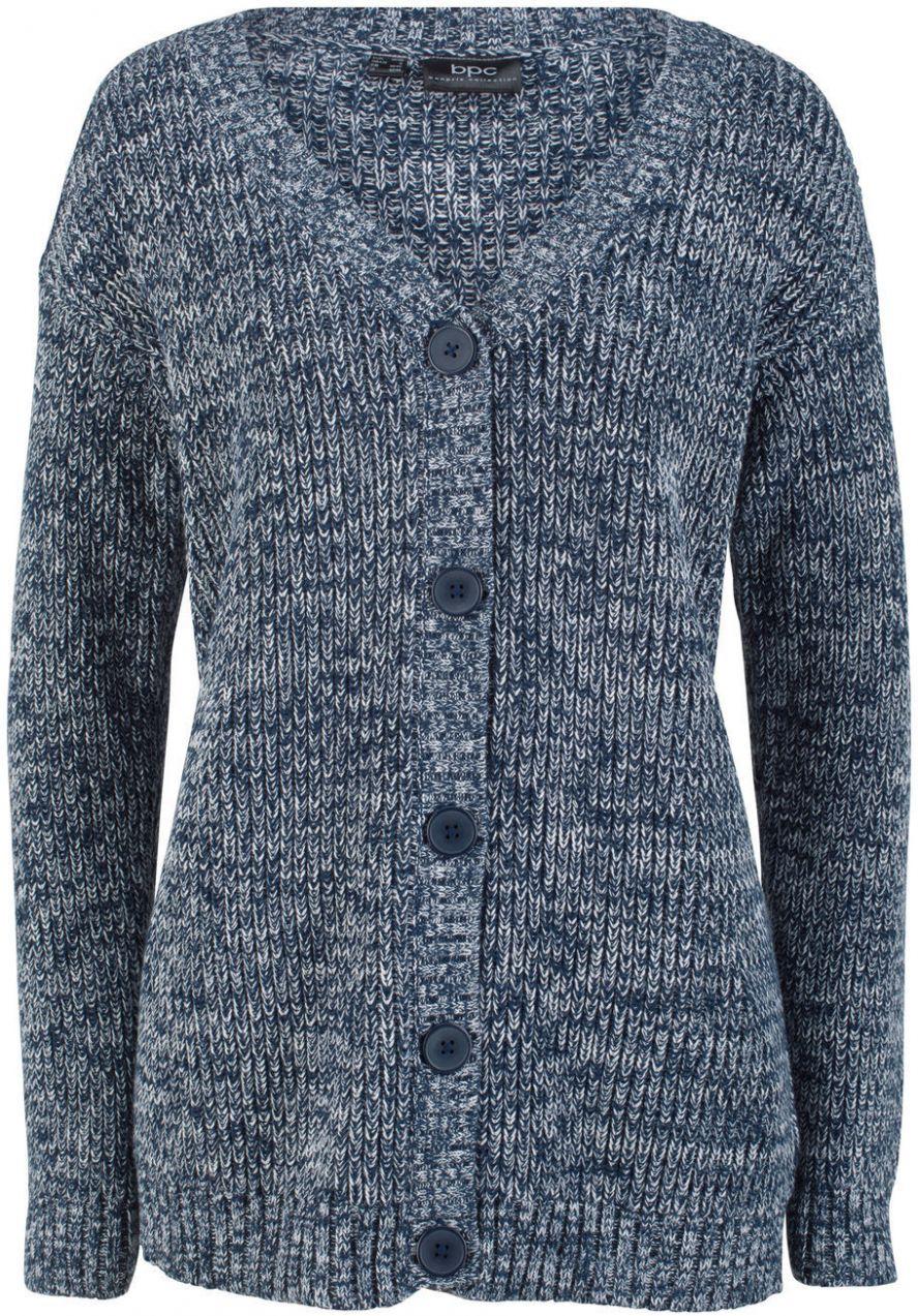 069da8e1dbc3 Pletený sveter v melírovanom vzhľade bonprix značky bpc bonprix collection  - Lovely.sk