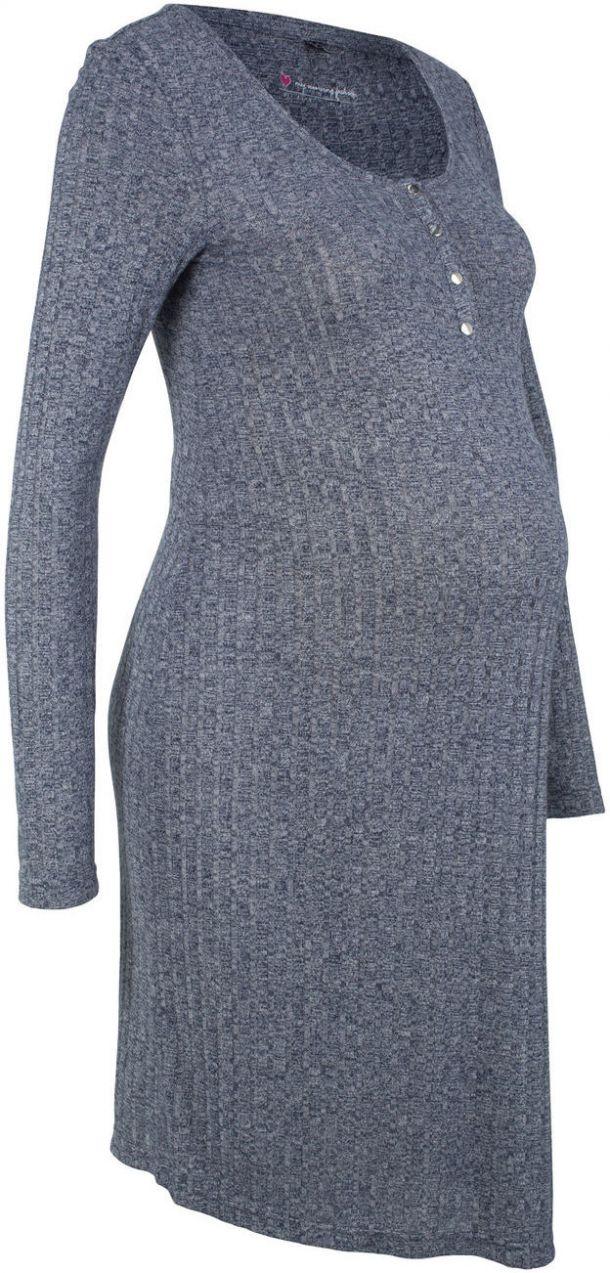 1f67a7046f Tehotenské úpletové šaty Kojenecké úpletové šaty bonprix značky bpc bonprix  collection - Lovely.sk