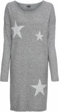 8f8fafabe9ee Pletené šaty s ažúrovým vzorom bonprix značky BODYFLIRT - Lovely.sk