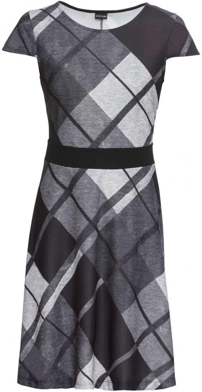Kárované šaty bonprix značky BODYFLIRT - Lovely.sk 66acf87c6aa