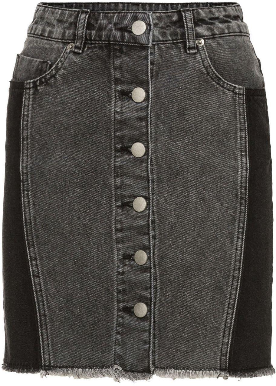 1049252d17e0 Džínsová sukňa na gombičky bonprix značky RAINBOW - Lovely.sk