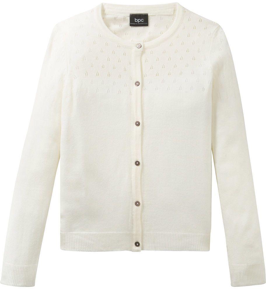 028cc7c08dd0 Pletený sveter s ažúrovým vzorom bonprix značky bpc bonprix collection -  Lovely.sk