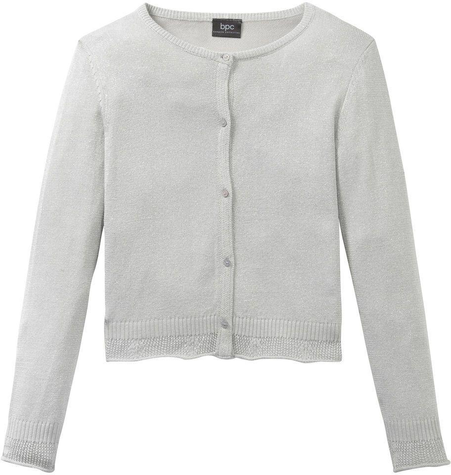 61069f42957b Lesklý pletený sveter bonprix značky bpc bonprix collection - Lovely.sk