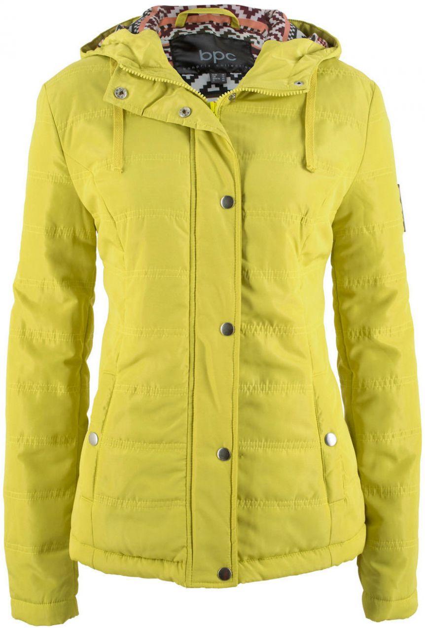 Prešívaná bunda s kapucňou bonprix značky bpc bonprix collection ... a9de97f50a6