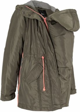 Tehotenská bunda so vsadkou 3 v 1 bonprix značky bpc bonprix ... d975b295f5c