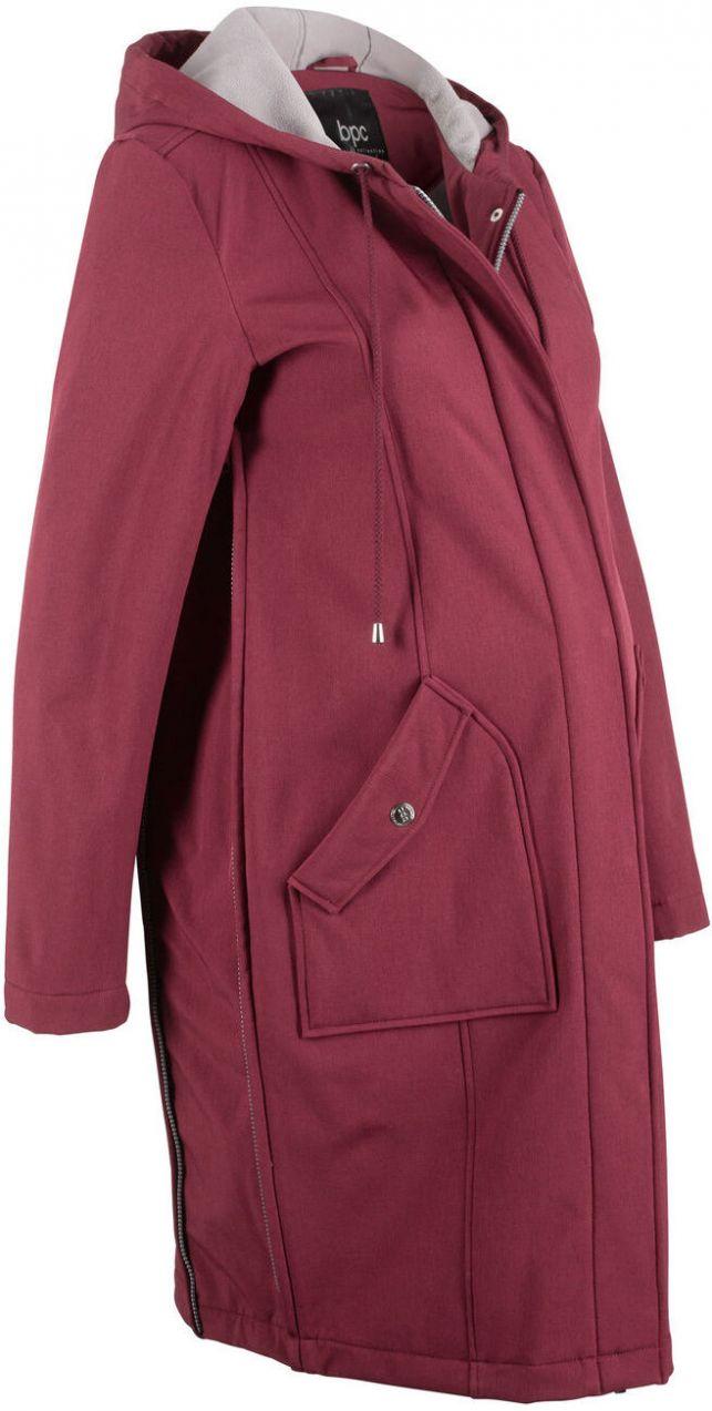 Tehotenská softshellová bunda bonprix značky bpc bonprix collection ... b02189d1cab