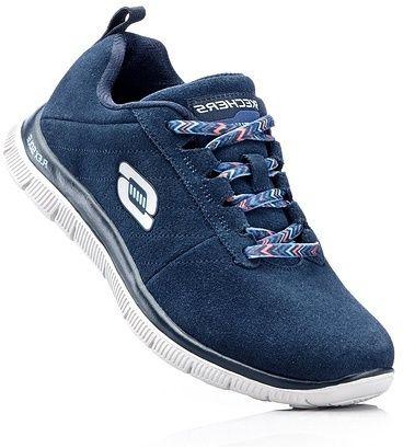 Kožená obuv s pamäťovou penou bonprix značky Skechers - Lovely.sk d7b2e2e19de
